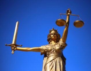 Vrouwe Justitia en het recht