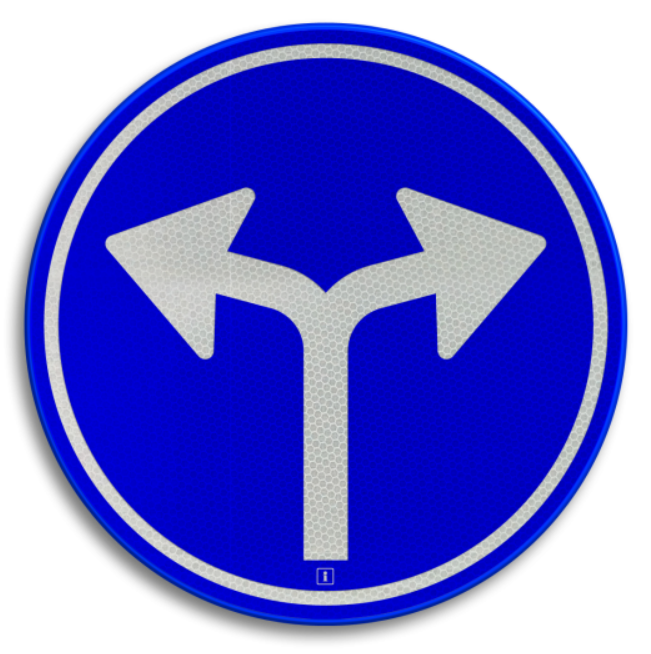 Welke richting we hier dienen te volgen is onduidelijk; links of rechts. Een goede strategie geeft duidelijkheid, zodat ook bij een ongewenste uitkomst, deze eenvoudig kan worden bijgesteld
